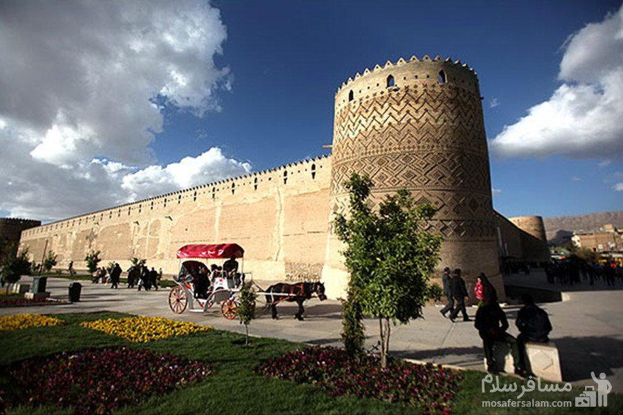 جاذبه تاریخی ارگ کریم خان زند