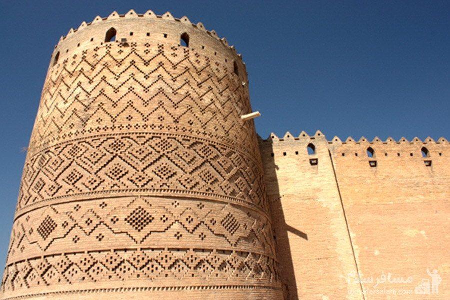 قلعه آجری ارگ کریم خان در شیراز