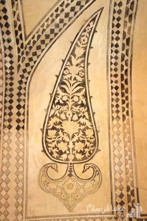 نقاشی دیوار ارگ کریم خان زند