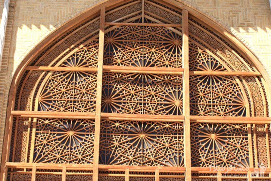 پنجره چوبی ارگ کریم خان زند