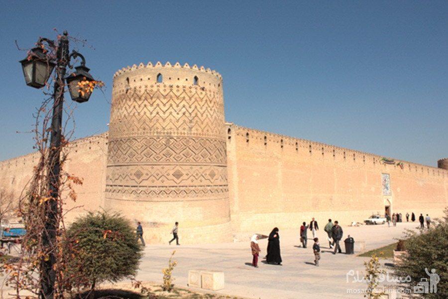ارگ کریم خان جاذبه تاریخی شیراز