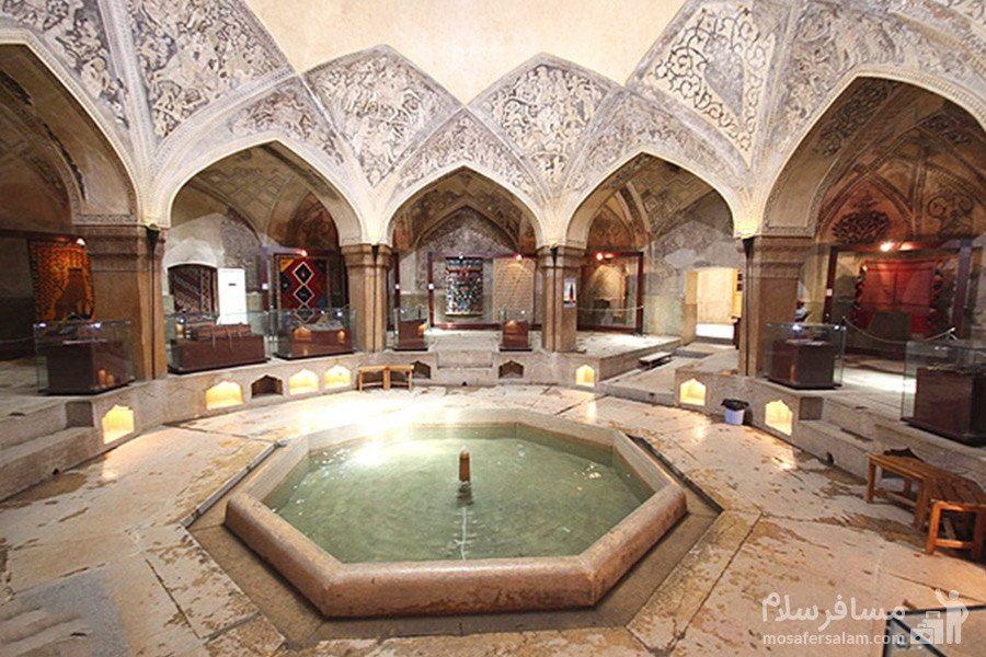 زیرزمین ارگ کریم خان زند و آب رکن آباد