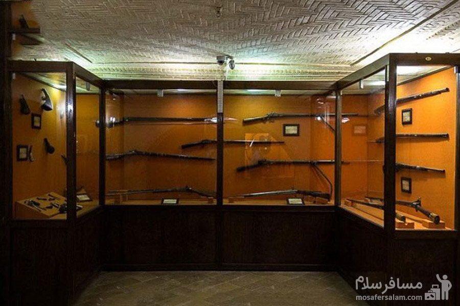 موزه نظامی باغ عفیف آباد شیراز