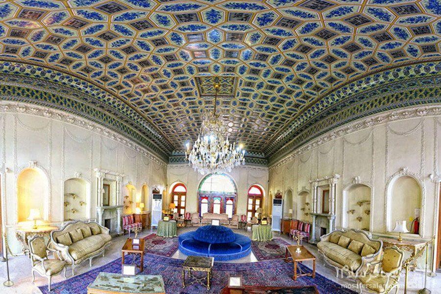 موزه ی عبرت باغ عفیف آباد شیراز