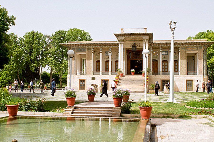 عمارت باغ عفیف آباد شیراز