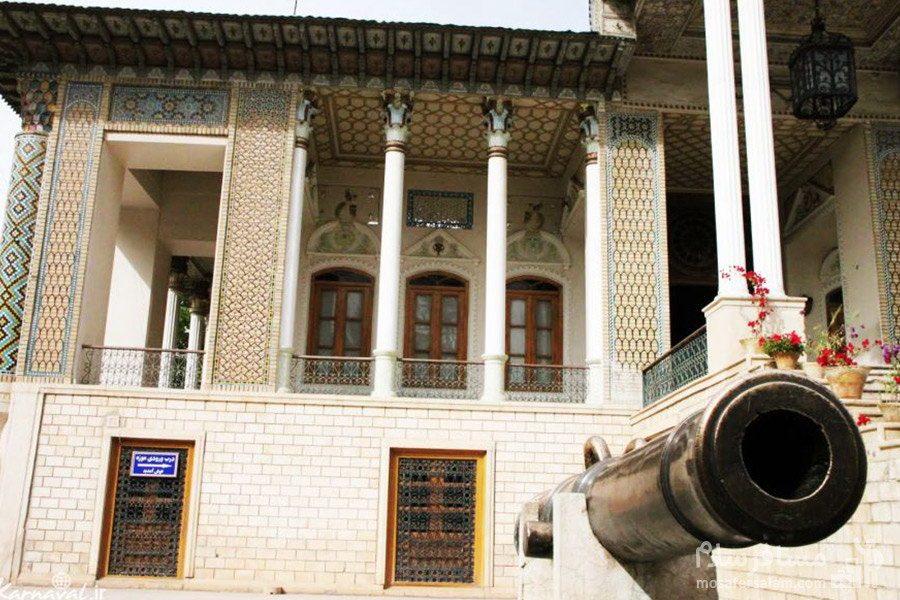توپ باغ عفیف آباد شیراز