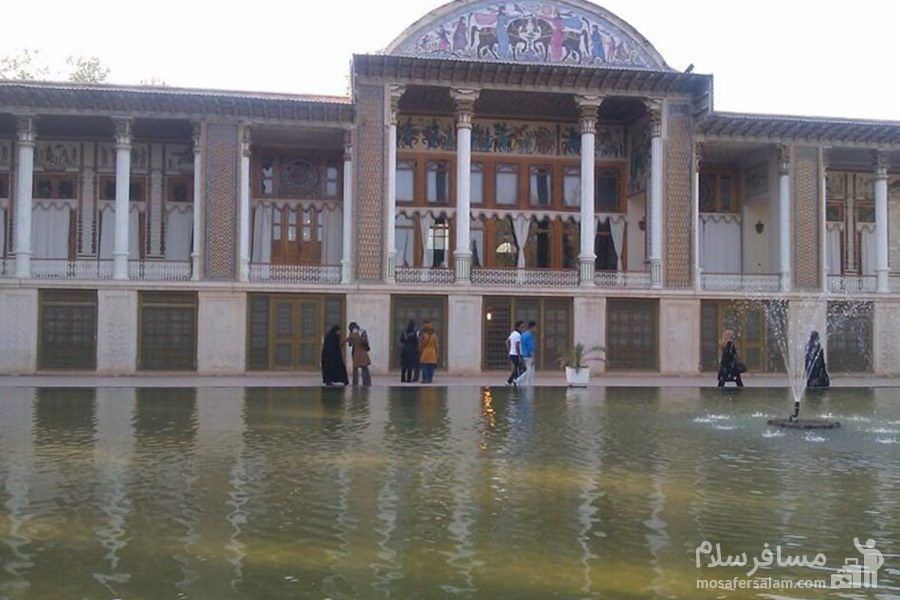 باغ عفیف آباد شیراز در استان فارس