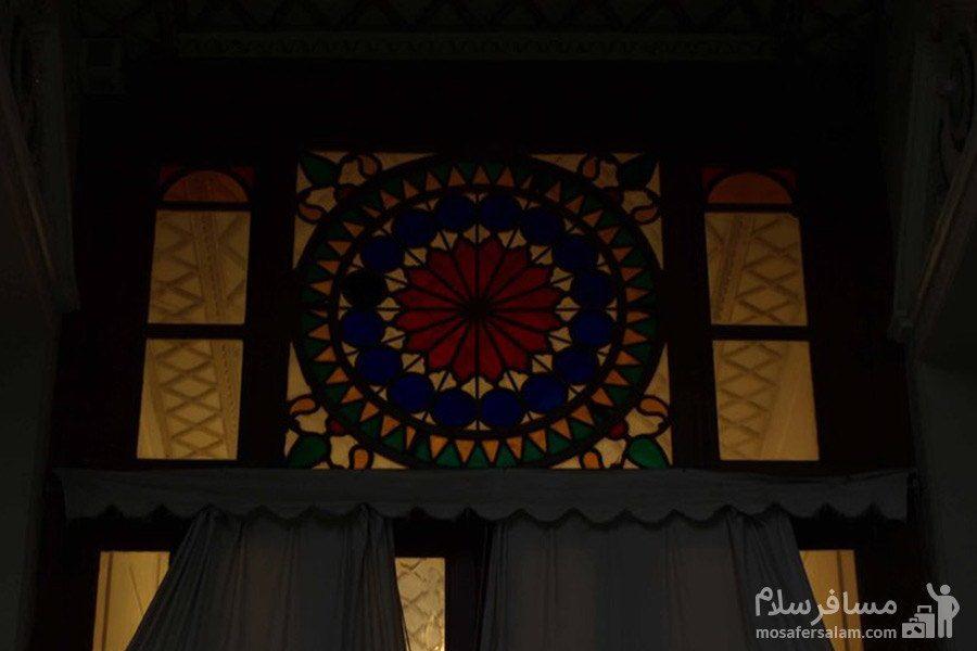 طبقه اول باغ عفیف آباد شیراز