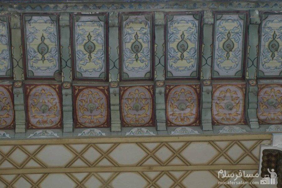 کاشی کاری باغ عفیف آباد شیراز