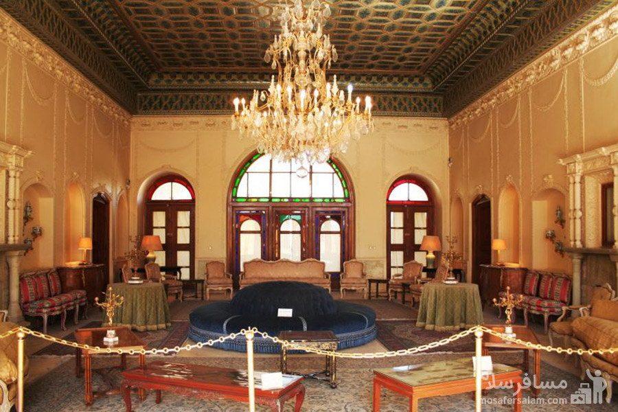 طیفه دوم عمارت باغ عفیف آباد شیراز