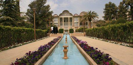 معماری باغ ارم شیراز