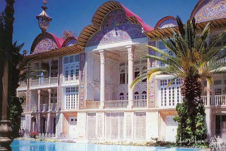 عمارت اصلی باغ ارم