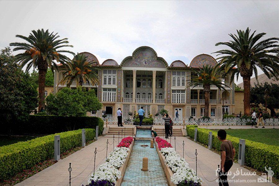 شیراز و باغ ارم