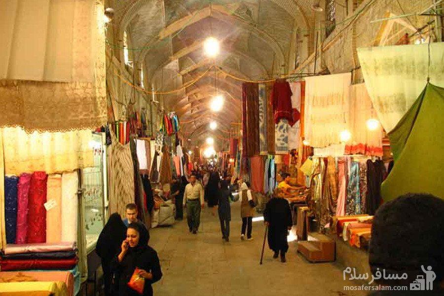 راسته بزازان در بازار وکیل شیراز