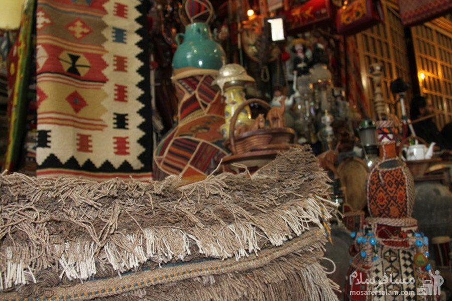 گلیم و جاجیم در بازار وکیل شیراز