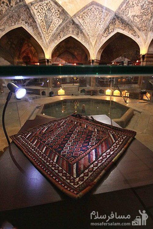 حمام وکیل شیراز بازمانده ی دوره ی زندیه
