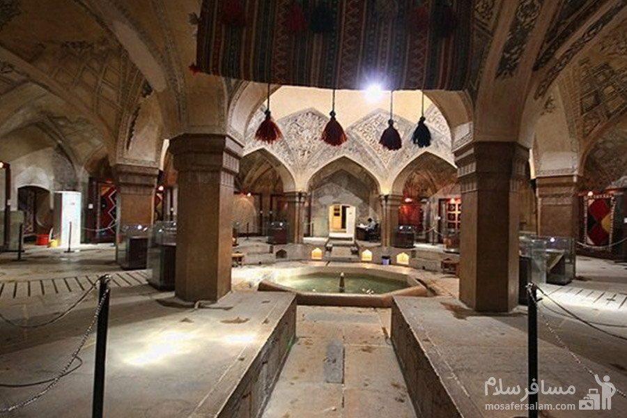 دالان های حمام وکیل شیراز