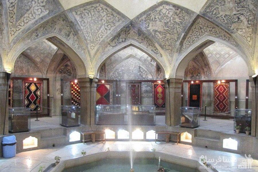 قسمت شاه نشین حمام وکیل شیراز