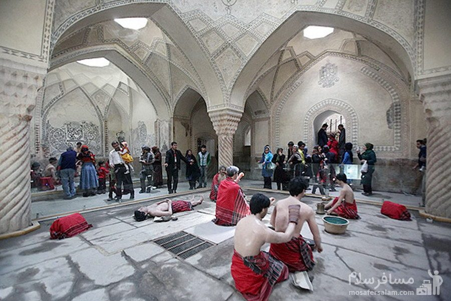 دلاکی حمام وکیل شیراز
