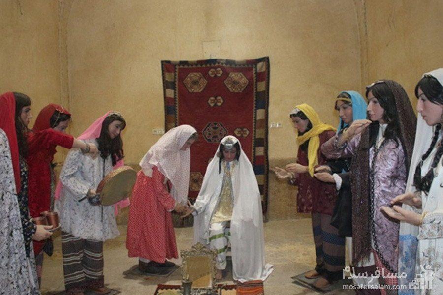 اجرای مراسم حنابندان حمام وکیل شیراز