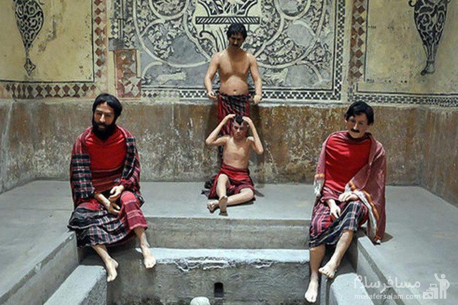 دلاکی و کیسه کشی حمام وکیل شیراز