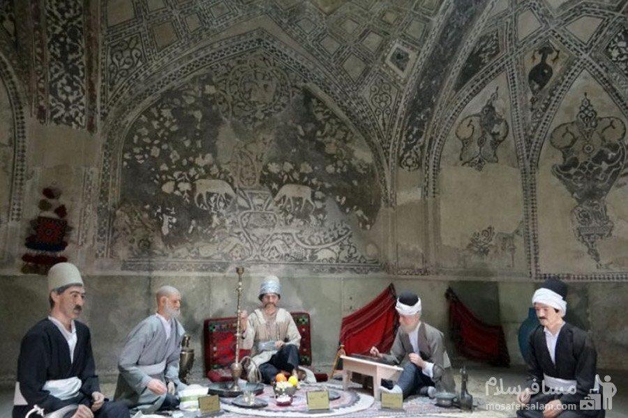 شاه نشین در حمام وکیل شیراز
