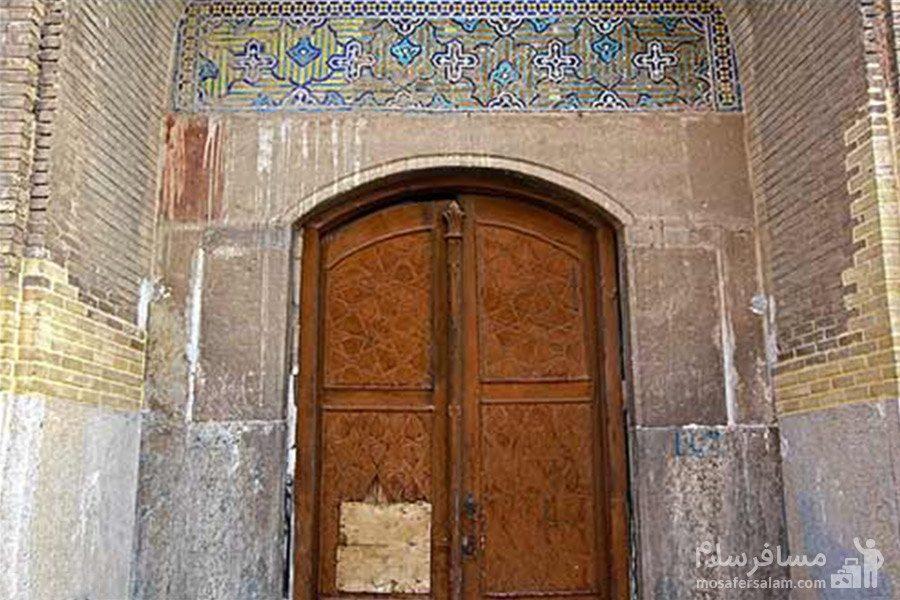 درب ورودی مسجد عتیق