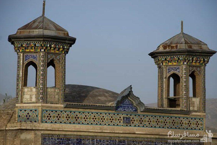 مناره های مسجد جامع عتیق شیراز