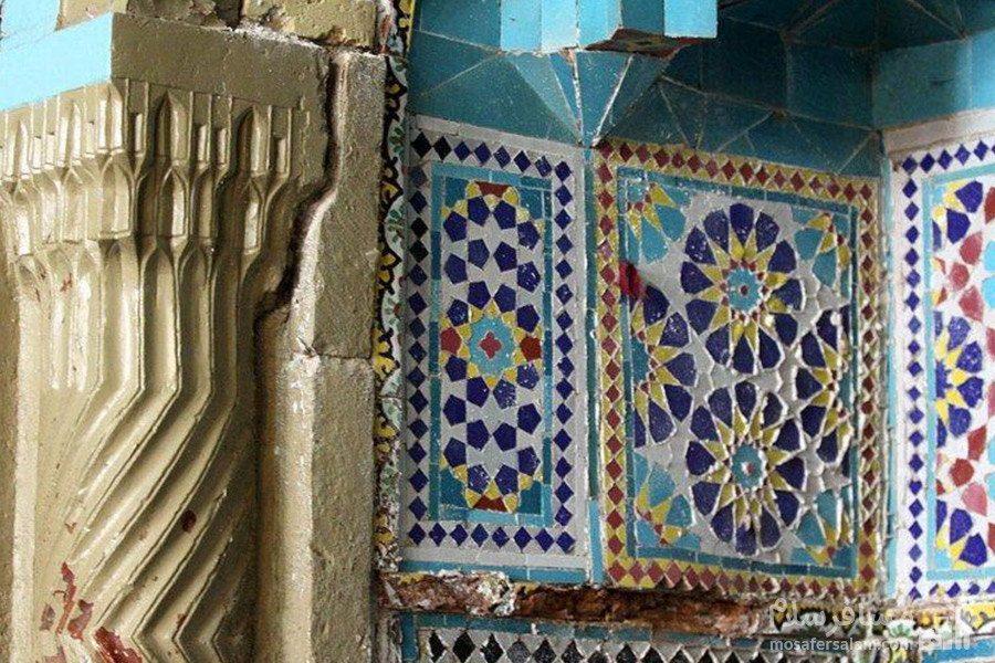 کاشی کاری مسجد عتیق