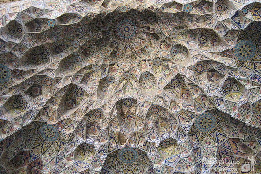 طاقی در مسجد عتیق شیراز