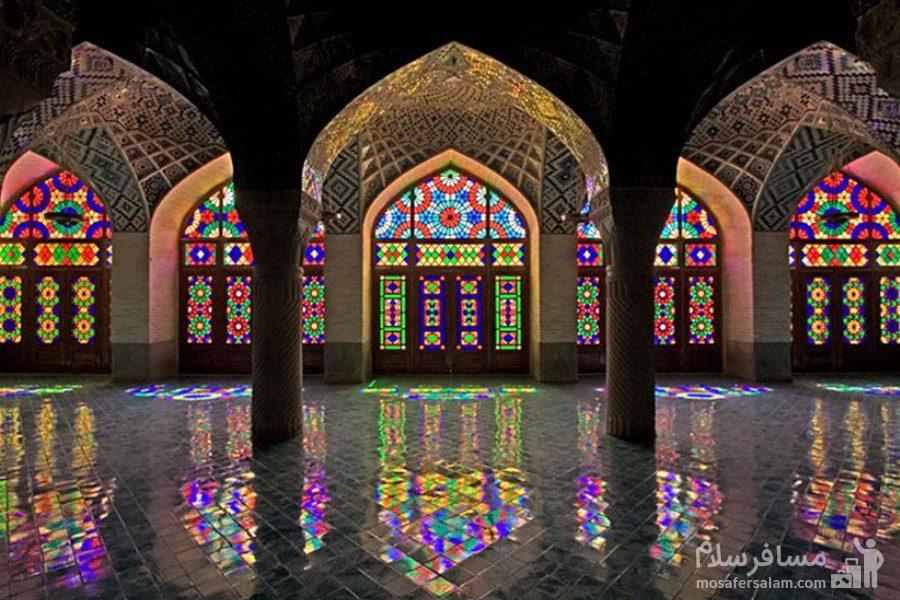 شبستان تابستانی مسجد نصیرالملک
