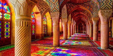 شبستان غربی مسجد نصیرالملک