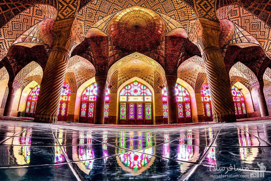 شبستان تایستانی مسجد نصیرالملک
