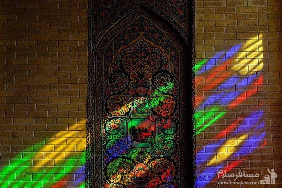 هشتی مسجد نصیرالملک