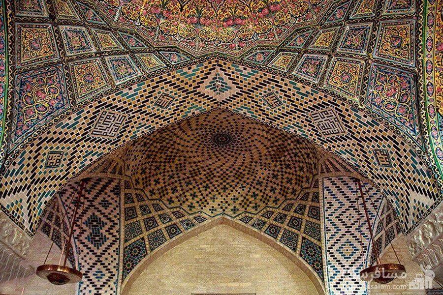 طاق آجری مسجد نصیرالملک