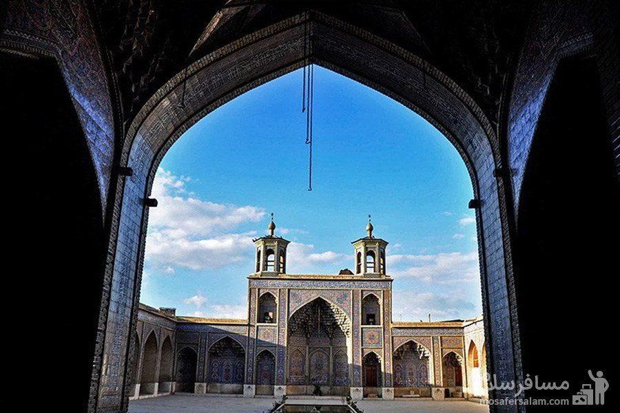 دالان مسجد نصیرالملک شیراز