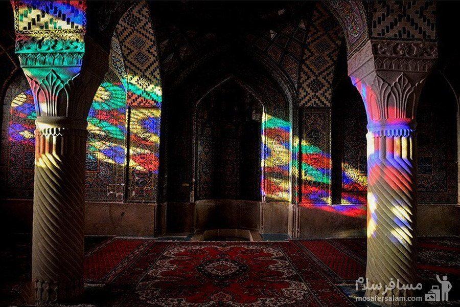 مسجد نصیرالملک و شبستان تابستانی