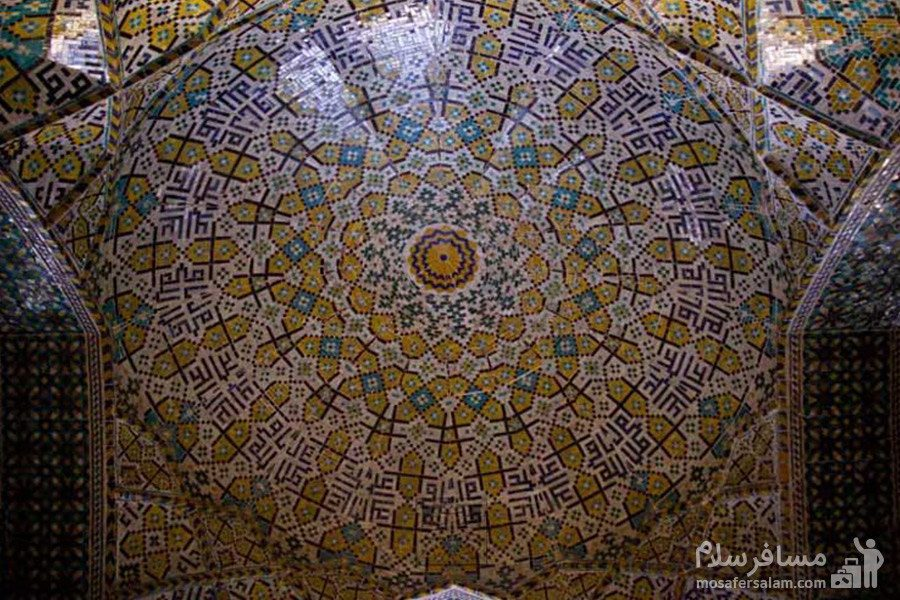 طاق کاشی کاری مسجد وکیل شیراز