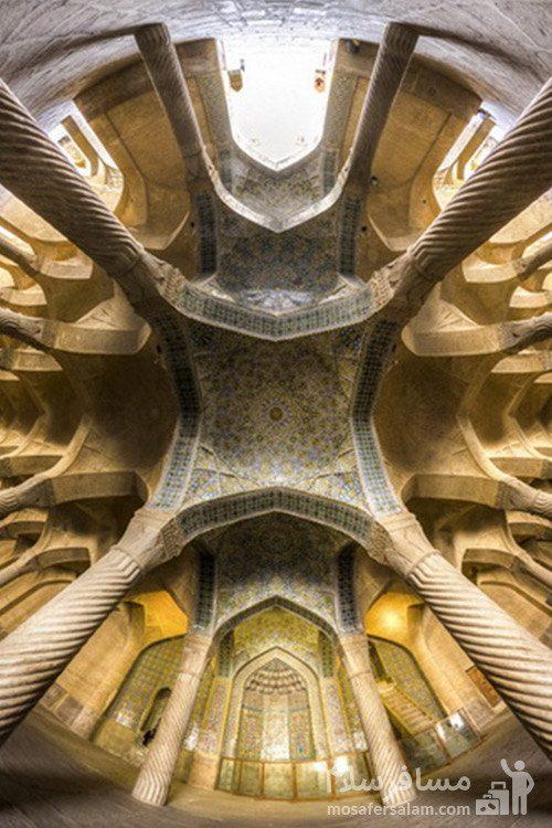 مسجد وکیل شیراز اثر زندیه