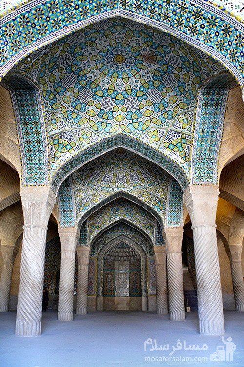 محراب مسجد وکیل شیراز