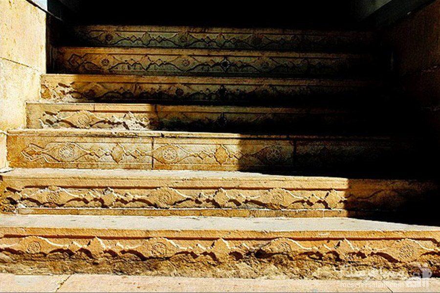 پله ها نارنجستان قوام در شیراز