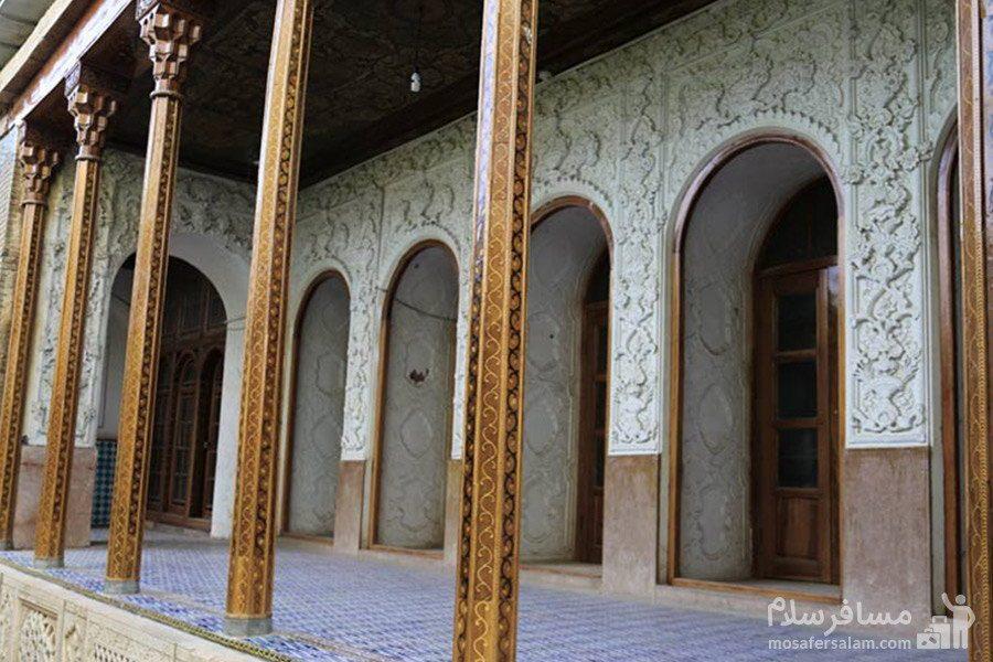 ایوان نارنجستان قوام در شیراز