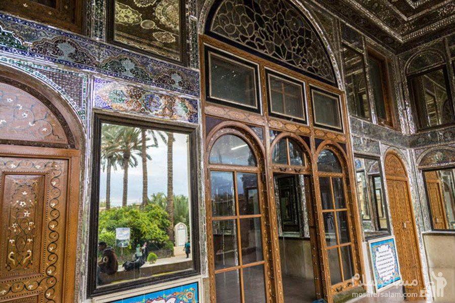 ایوان اصلی نارنجستان قوام در شیراز