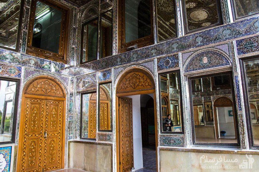 معماری داخلی نارنجستان قوام در شیراز
