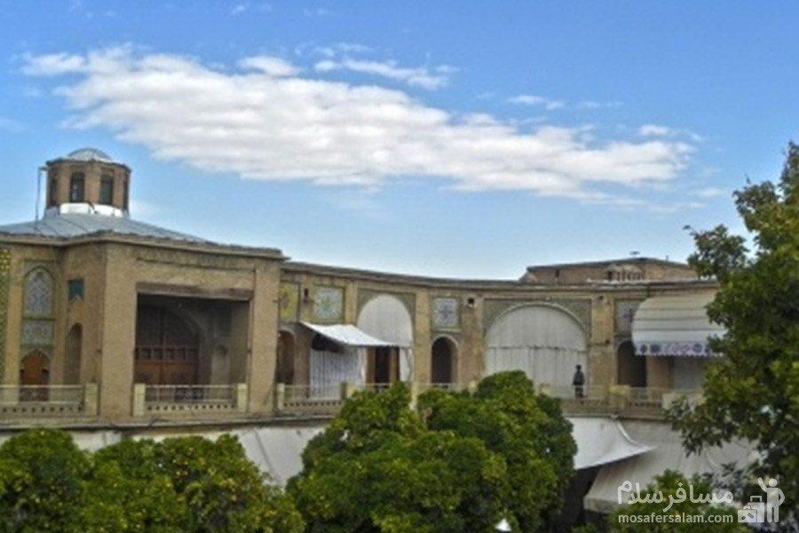 طبقه بالای سرای مشیر شیراز