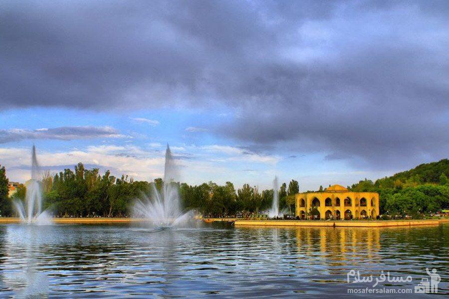 دریاچه ائل گلی