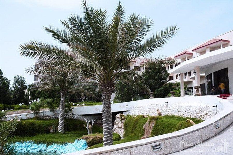 هتل گراند کیش فضای بیرونی