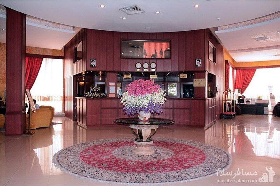 هتل گراند کیش پذیرش