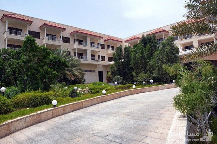 هتل گراند کیش محوطه اتاقها