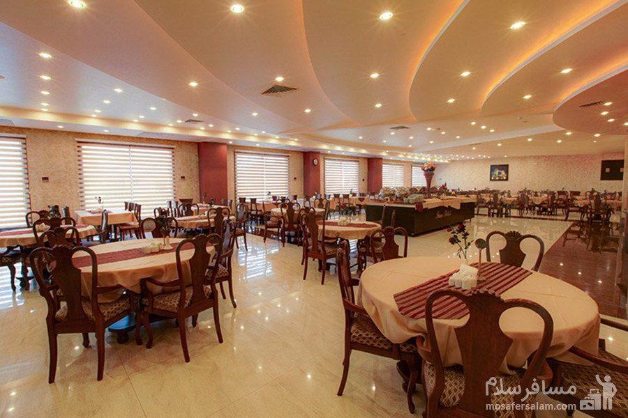 هتل ایران کیش فضای رستوران
